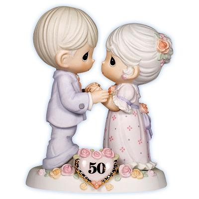 Precious Moments 50th Wedding Anniversary
